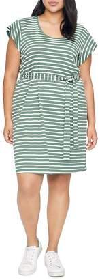 Sanctuary Curve Ruby Striped T-Shirt Dress