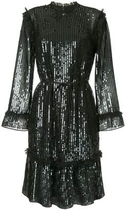 Needle & Thread sequinned midi dress