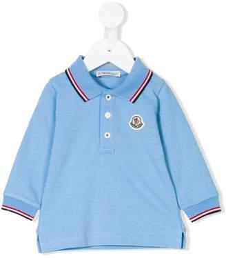 Moncler long sleeved polo shirt