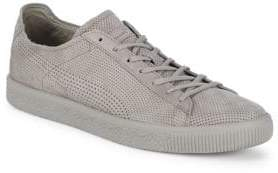 Puma Perforated Leather Sneakers