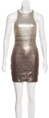Halston Embellished Shift Dress