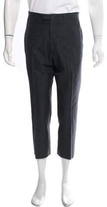 Gucci Woven Flat Front Pants