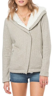 O'Neill 'Crestline' Faux Fur Lined Hoodie $74 thestylecure.com