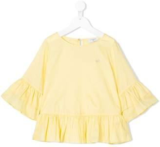 MonnaLisa ruffle-trimmed blouse