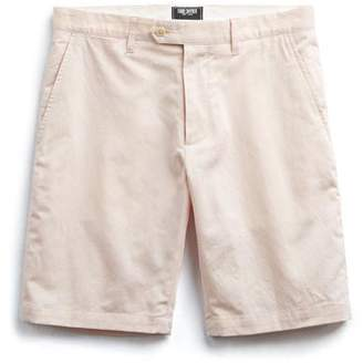 Todd Snyder Made in New York Pink Oxford Hudson Tab Short