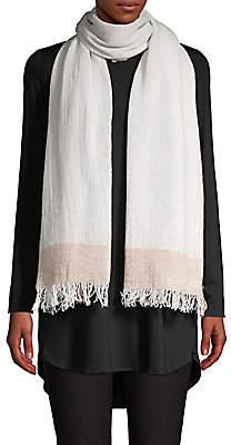 Eileen Fisher Women's Wool Fringe Scarf