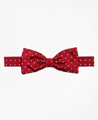 Brooks Brothers Dot Pre-Tied Bow Tie