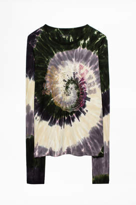 Zadig & Voltaire Willy Tie And Dye T-Shirt