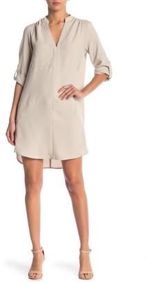 Lush 3/4 Length Sleeve Novak Shift Dress