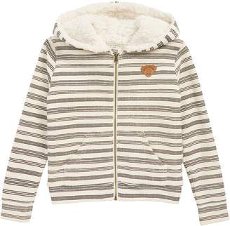 Billabong Snow Day Fleece Lined Zip Hoodie
