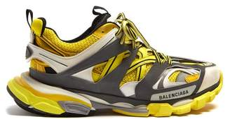 Balenciaga Track Low Top Trainers - Mens - Black Yellow