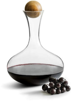 Sagaform Nature Red Wine Decanter with Oak Stopper