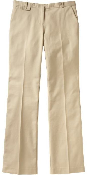 Women's Mid-Rise Trousers