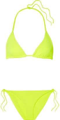 Mara Hoffman Rae And Lei Bikini - Bright yellow