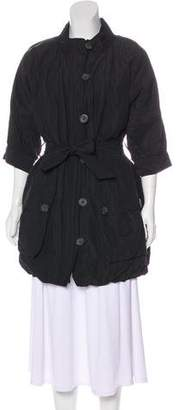 Vince Zip-Up Short Coat