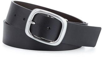 Robert Graham Danton Reversible Faux-Leather Belt, Black/Brown $24 thestylecure.com