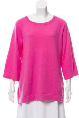 Michael Kors Cashmere Short Sleeve Sweater