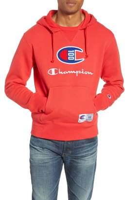Champion Century Collection Logo Pullover Hoodie