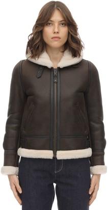 Schott Lcw 1257 Hooded Leather Aviator Jacket