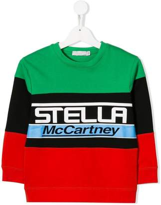 Stella McCartney logo printed sweatshirt