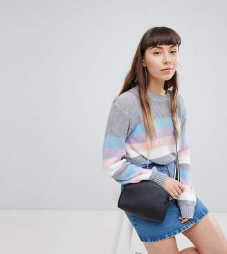Daisy Street Relaxed Jumper In Stripe