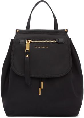 Marc Jacobs Black Trooper Backpack $275 thestylecure.com