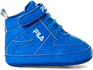 Fila Infant Boys) Blue High-Top Sneakers