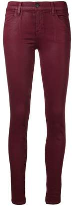 J Brand oil coated skinny jeans