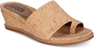 Lucca Lane Wynona Platform Wedge Sandals Women's Shoes