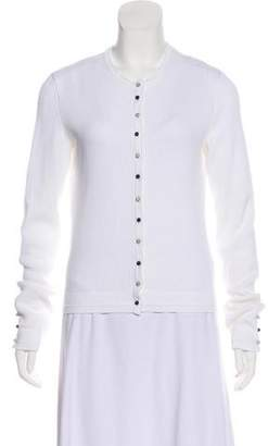 Chanel Lightweight Button-Up Cardigan
