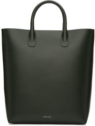 Mansur Gavriel Green North South Tote Bag