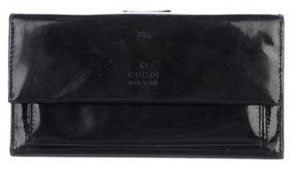 Gucci Spazzolato Continental Wallet