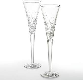 Waterford Happy Celebrations Flute, Set of 2