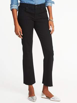 Old Navy Mid-Rise Cropped Flare-Ankle Jeans for Women