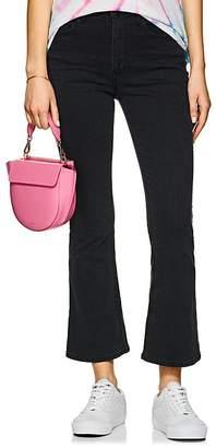 3x1 Women's W4 Crop Boot-Cut Jeans