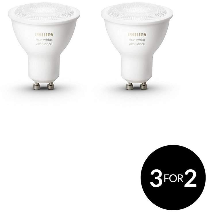 Hue White Ambiance Twin Pack Bulb