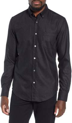 BOSS T-Rafael Long Sleeve Slim Fit Flannel Sport Shirt