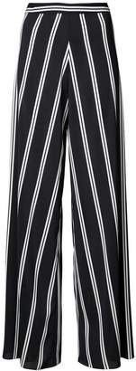 Alice + Olivia Alice+Olivia striped wide leg trousers
