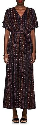 Ace&Jig Women's Fete Geometric-Pattern Cotton Dress
