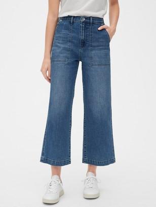 Gap ';80s Worker High Rise Wide-Leg Jeans
