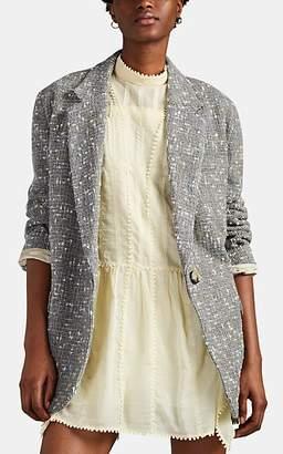 Etoile Isabel Marant Women's Orix Plaid Wool Blazer - Gray
