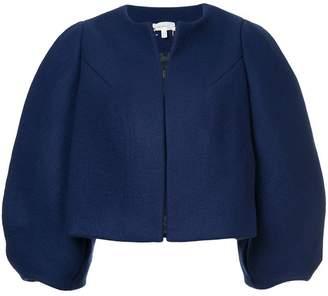 DELPOZO cropped oversized jacket