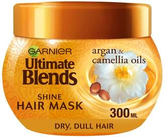 Garnier Ultimate Blends Argan Oil Shiny Hair Mask Treatment 300ml