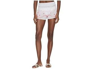 Letarte Embroidered Shorts Women's Swimwear