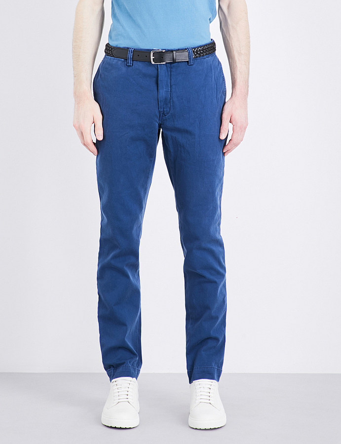 Polo Ralph Lauren Polo Ralph Lauren Bedford slim-fit tapered cotton chinos