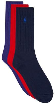 Ralph Lauren Crew Socks (3 Pack)