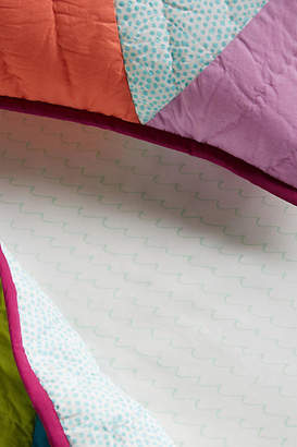 Anthropologie Make Waves Crib Sheet