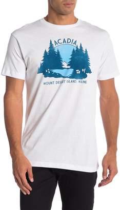 Body Rags Short Sleeve Acadia Desert Island Tee