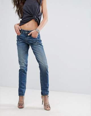 G-Star 3301 High Waist Straight Leg Jeans With Turn Up $121 thestylecure.com