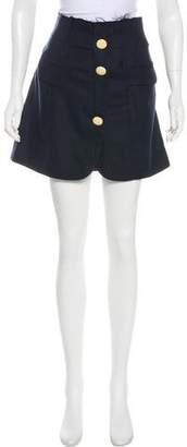 Jacquemus Mini Virgin Wool Skirt